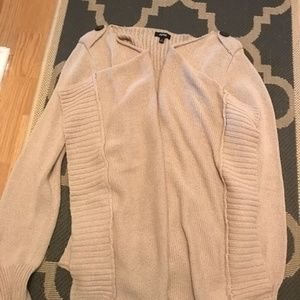 APT 9 Beige Wrap Cardigan